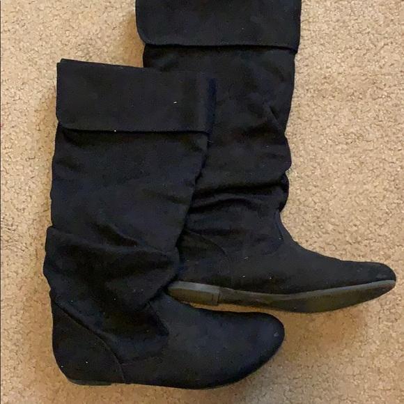 Black Mid Calf Boots | Poshmark